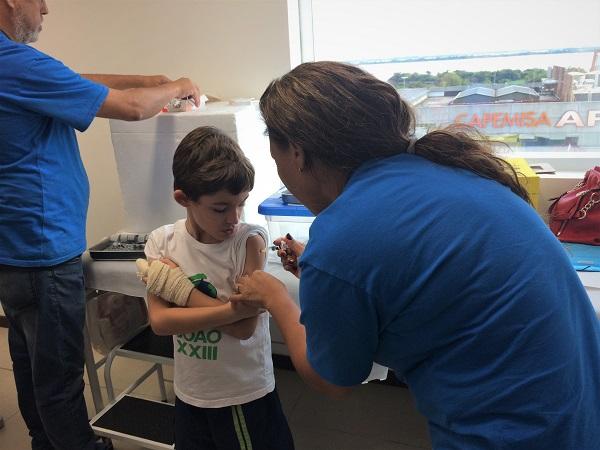 ASJ mobiliza servidores, associados e dependentes para a Campanha de Vacinação 2018