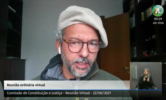 Deputado Frederico Antunes é o relator do Plano de Carreira na CCJ
